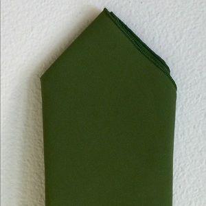 Olive Green Pocket Square